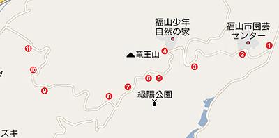 園芸センターの地図