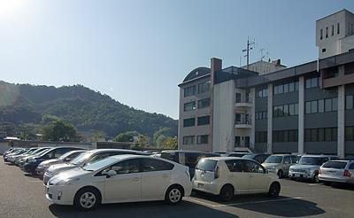 満車の駐車場