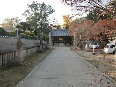 素盞鳴神社にて