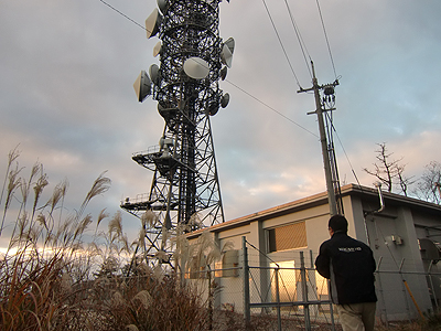 宇根山の電波塔