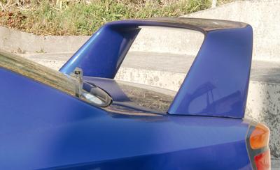 S15シルビア用nismo製ハイマウントウイングスポイラー