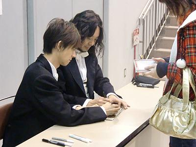 杉ちゃん&鉄平のサイン会