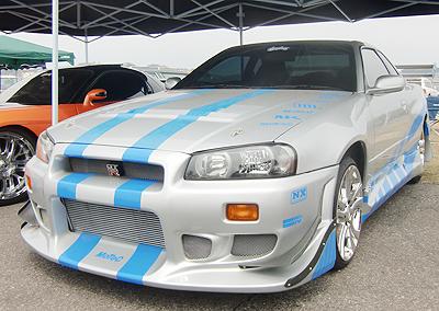 R34スカイラインGT-R