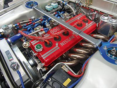 KPGC10ハコスカGT-RのエンジンはR380から引き継がれたS20型エンジン
