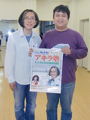 宮川彬良さんにサインを頂き記念写真