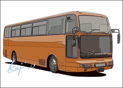 観光バス or 高速長距離バス