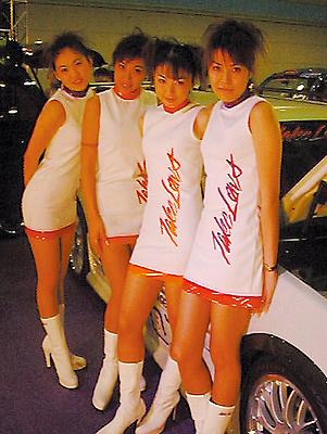 大阪オートメッセでのキャンペーンGAL