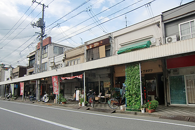 松永の商店街