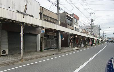 松永の駅前商店街
