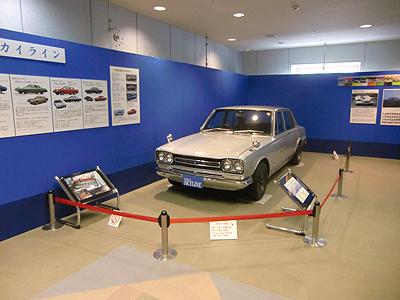 2FハコスカGT-Rの展示