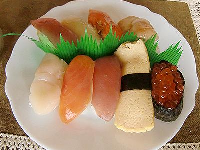 残りの寿司