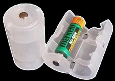 乾電池のスペーサー