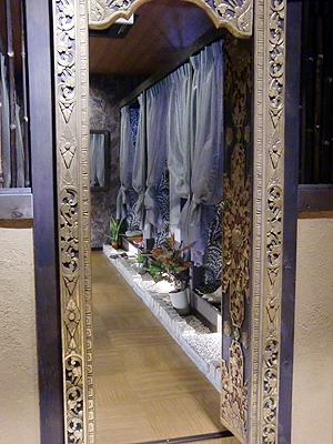 バリ島をイメージされた個室