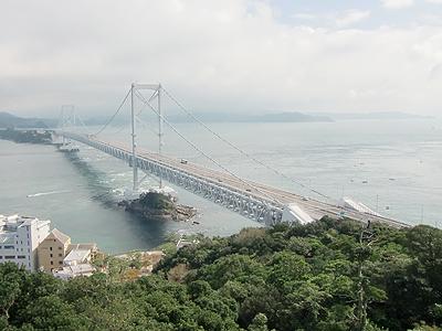 鳴門山展望台からの大鳴門橋