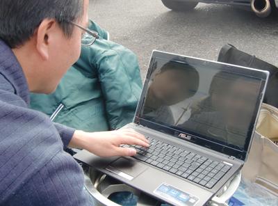ハイテク機器を使って自分の走りを分析