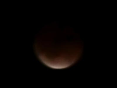 皆既月食PM22:30頃