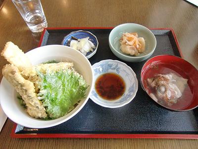 太刀魚丼定食1,000円