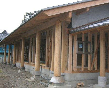 笠懸栗柱の家