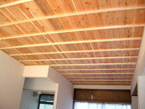 杉板竿縁天井