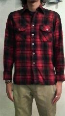 ウールシャツ