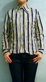 長袖70'sブラウス