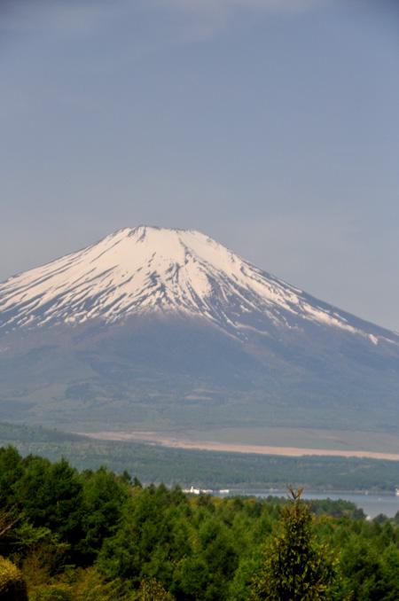 5月20日朝の富士山