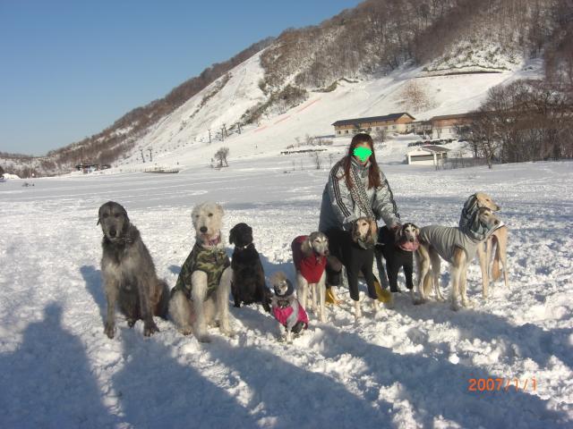 雪の集合写真24