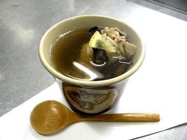 茶屋の七茸スープ