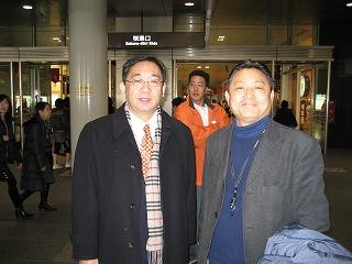HP業者と名古屋駅で待ち合わせ