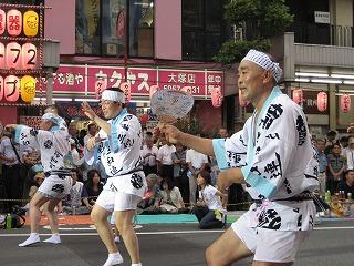 長橋都議、池内さんの踊り