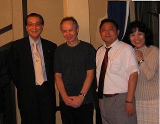 TVでおなじみピーターさんと渡邉商工会議所会長とご挨拶しました