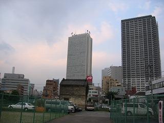東池袋4丁目再開発ビルとサンシャインビルと日出小再開発用地