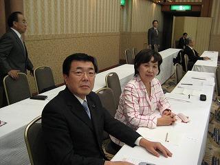 長橋組織局長と此島女性局次長さんは主催者として