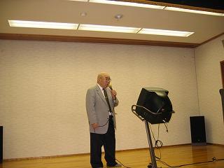 二丁目加藤町会長さん85歳