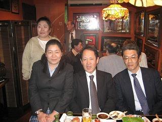 警防課長、高松所長、始め式の司会Sさん
