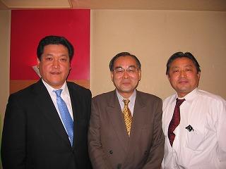 朝鮮総連豊島区委員長さんと中島副幹事長と