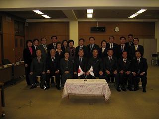 東大門区訪日団と豊島区議会参加者