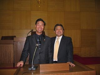 チョン・チョルス東大門区副議長さんと