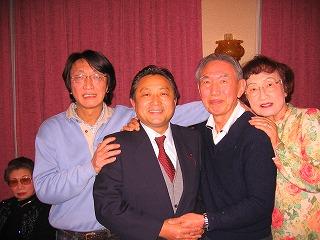 松島相談役さんと息子の社長さんと
