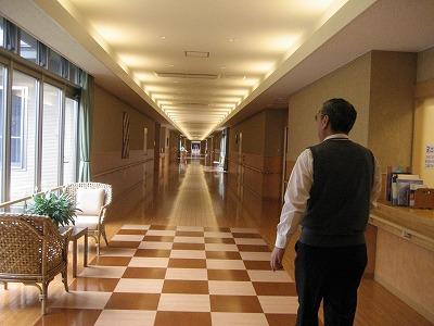 110Mの廊下