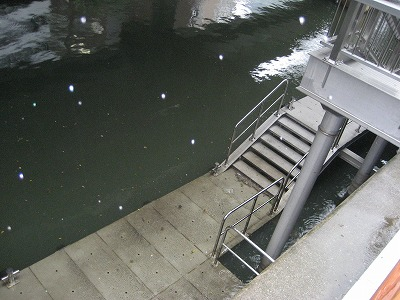 災害時に船で避難できる船乗り場