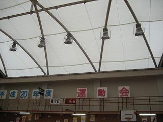 体育館天井
