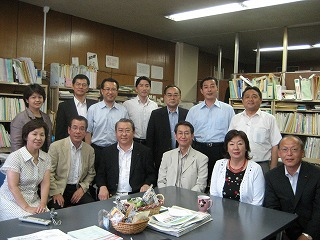 札幌市議会公明来庁