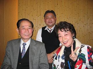 右から、関根さん、私、堀口さん