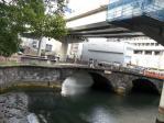 映画「ハゲタカ」常盤橋公園