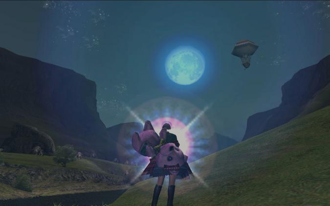 お月さん パワーをちょうだい♪