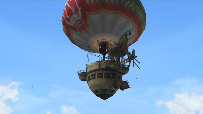 気球に乗ろう♪