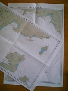 1級小型船舶練習用海図