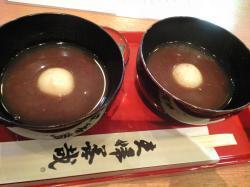 先日千葉から友人が来たので、夫婦善哉を食べてきました