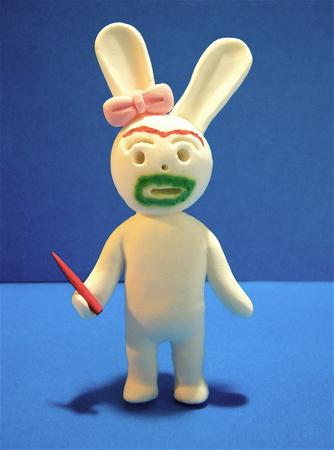 メイク子ウサギ
